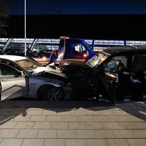 Masinė avarija Vilniuje: susidūrė 5 automobiliai, nukentėjo žmogus