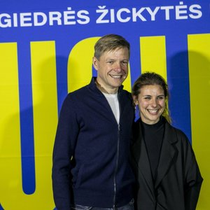 Vilniaus meras Remigijus Šimašius pasirodė viešumoje su naująja žmona: nuo veidų nedingo šypsenos