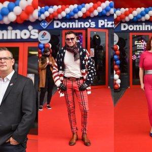 """Lietuvoje atidarytas pirmasis pasaulyje garsaus tinklo """"Domino's Pizza"""" restoranas: apsilankė ir žinomi žmonės"""