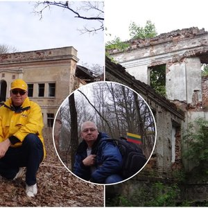 """Artūras tyrinėja Lietuvos vietas, į kurias kiti žengti nedrįsta: """"Pasakosiu anūkams, koks pasiutęs buvo jų senelis"""""""