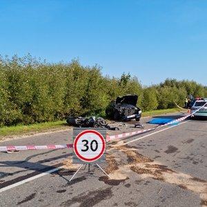 Tragiška jauno vyro mirtis Trakų rajone: motociklą įsigijo visai neseniai