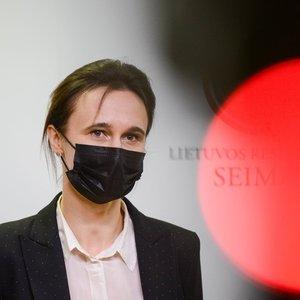 """Čmilytė-Nielsen apie tvora apjuostą Seimą: dėl """"Zapad"""" yra padidėjusi įvairių provokacijų galimybė"""