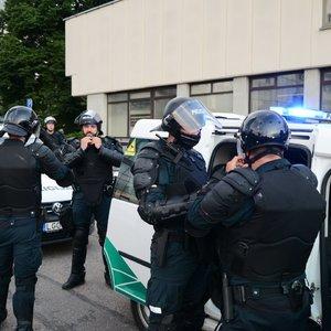 Policija įspėja – tikrins dalį atvykstančiųjų į mitingą