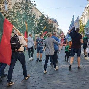 Per neramumus Vilniuje sulaikyta 20 žmonių, nukentėjusių nėra
