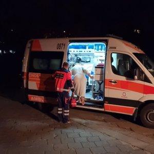 Vilniuje iš uždūminto buto ugniagesiai išgelbėjo vyrą