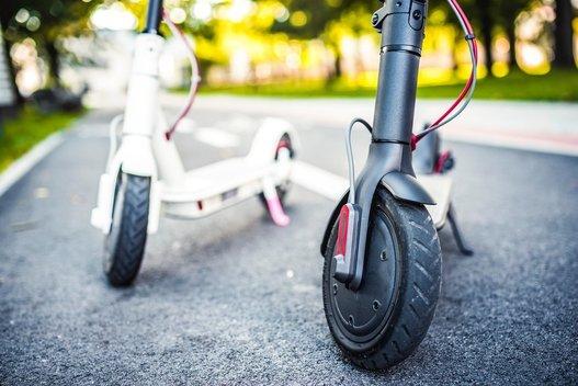 Elektriniai paspirtukai (nuotr. Shutterstock.com)