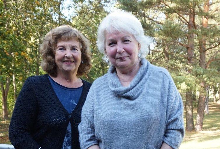 Pagalbos priimant sprendimus specialistės (iš kairės) Liudvika Urbanavičienė ir Nijolė Dirsienė. Aurelijos Babinskienės nuotr.