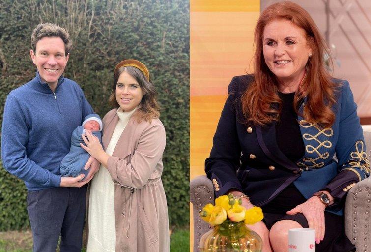 Sarah Ferguson apgynė princesės Eugenie sutuoktinį (nuotr. Vida Press)