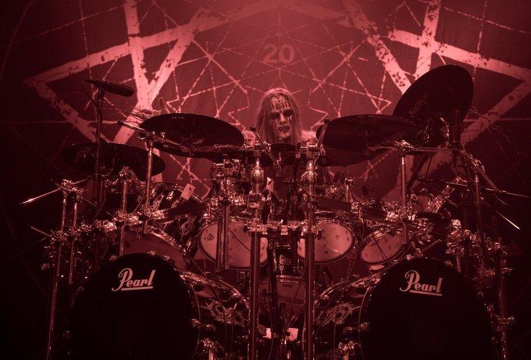 Joey Jordison (nuotr. Vida Press)