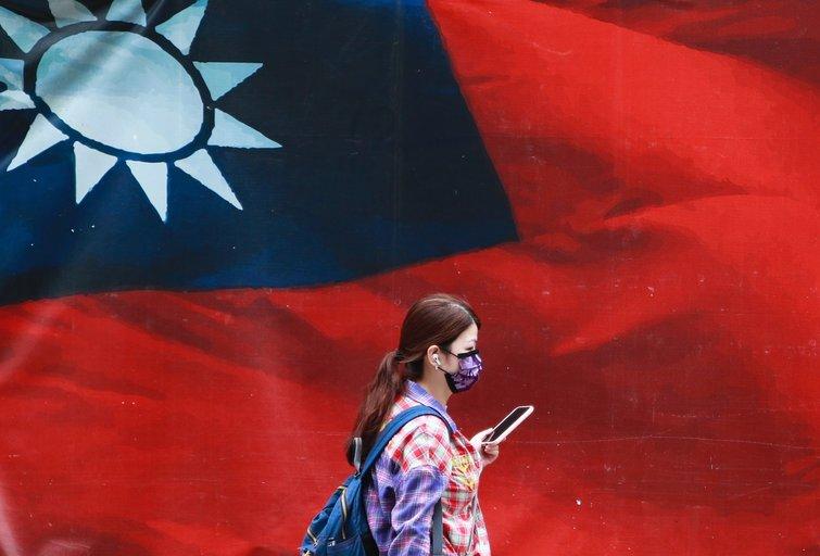 Taivano vėliava. (nuotr. SCANPIX)