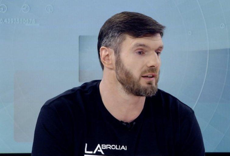 Apie pasitraukimą užsiminęs K. Lavrinovičius: aš kaip Selas (nuotr. TV3)