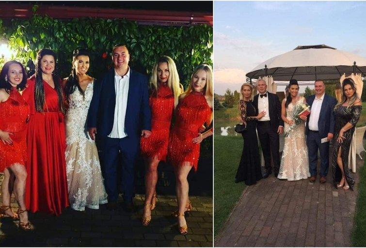 Tomas Bagdonavičius pasidalijo vestuvių akimirkomis (nuotr. asm. archyvo)