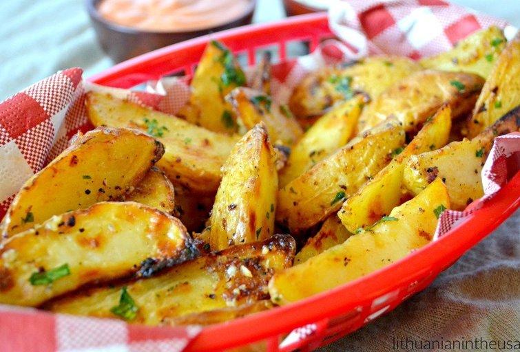Bulvių skiltelės (Nuotr. Lithuanian in the USA)