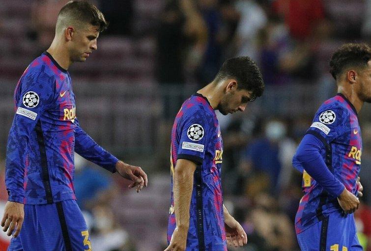 """""""Barcelona"""" nesėkme pradėjo Čempionų lygos turnyrą (nuotr. SCANPIX)"""