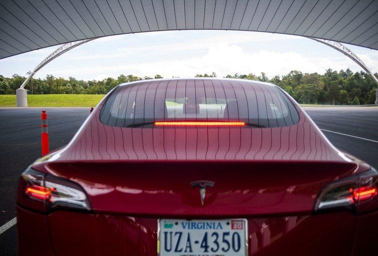 Tesla 3 (nuotr. SCANPIX)