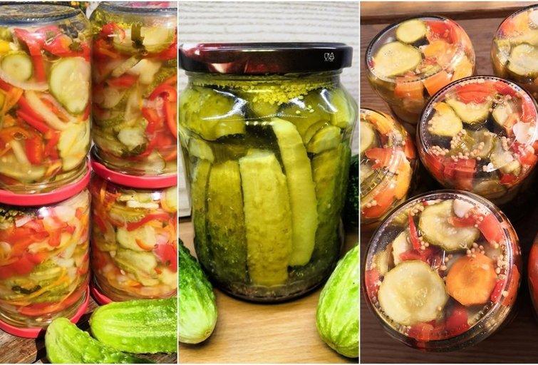 TOP 5 agurkų marinavimo būdai pagal Iriną (nuotr. asm. archyvo)