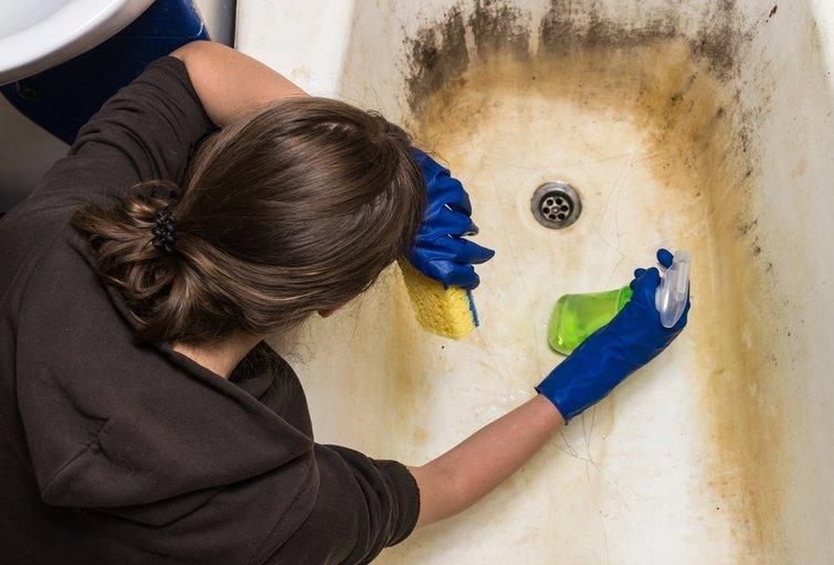 Vonios valymas (Nuotr. shutterstock.com)