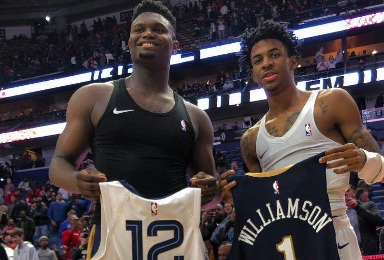 Paskelbti geriausių NBA naujokų penketai. (nuotr. SCANPIX)