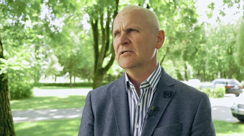 Lietuvos grūdų augintojų asociacijos pirmininkas Aušrys Macijauskas
