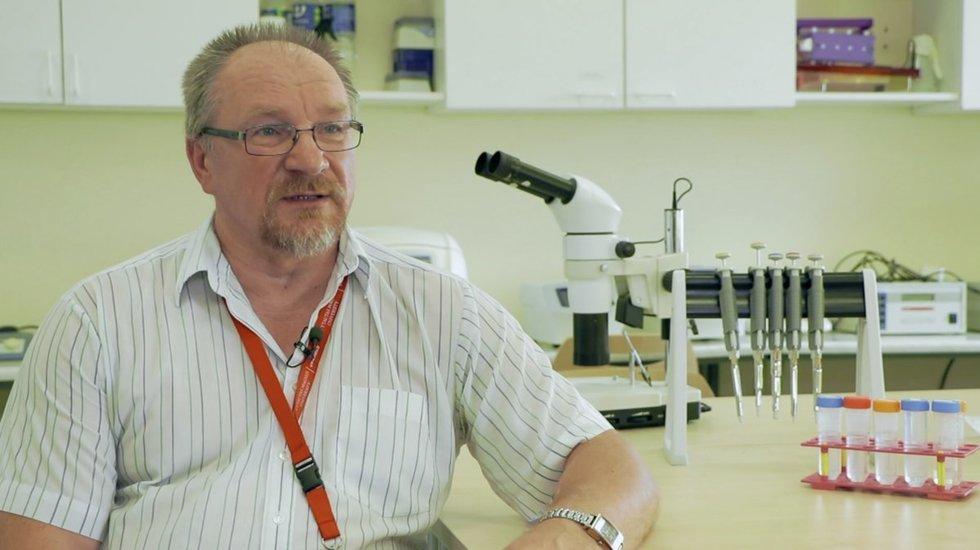Biomedicinos mokslų daktaras, VDU profesorius Algimantas Paulauskas