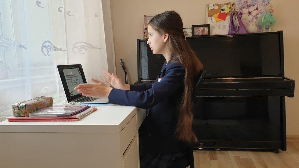 Mokymasis namuose