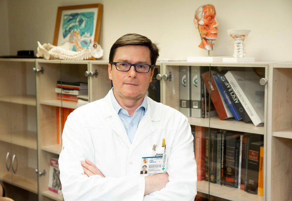 Doc. dr. Tomas Tamošuitis (Kauno klinikų nuotr.)
