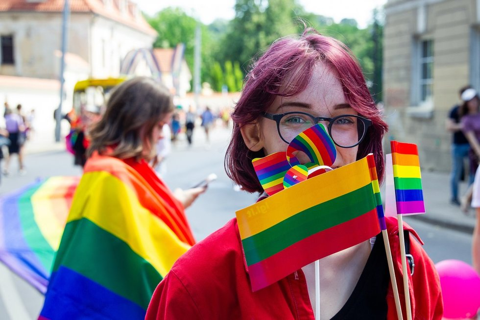 """""""Baltic Pride"""" 2019 eitynės """"Už lygybę!"""""""