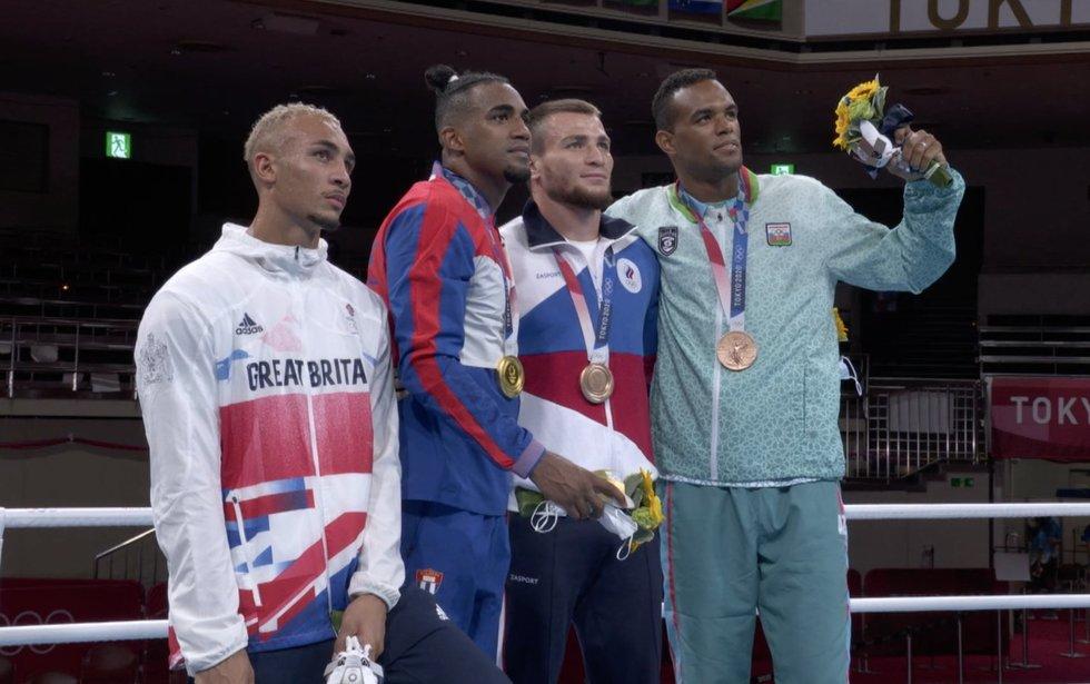 Britų boksininko akibrokštas apdovanojimų ceremonijoje supykdė ne vieną
