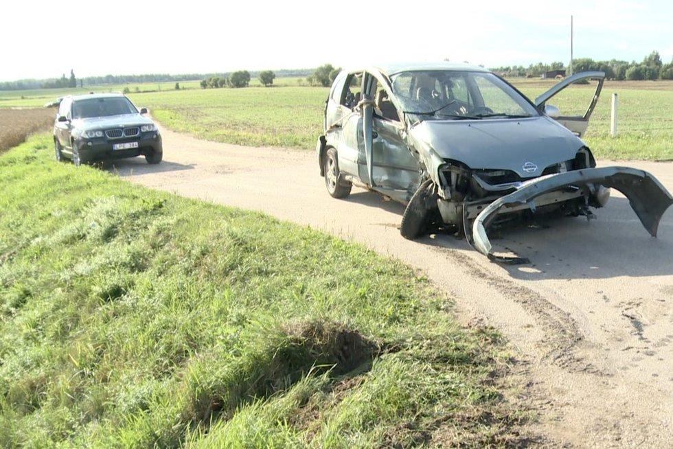 """Avarijoje """"Via Baltica"""" kelyje žuvo senjoras: """"Klaida, kuri kainavo gyvybę"""" (nuotr. stop kadras)"""
