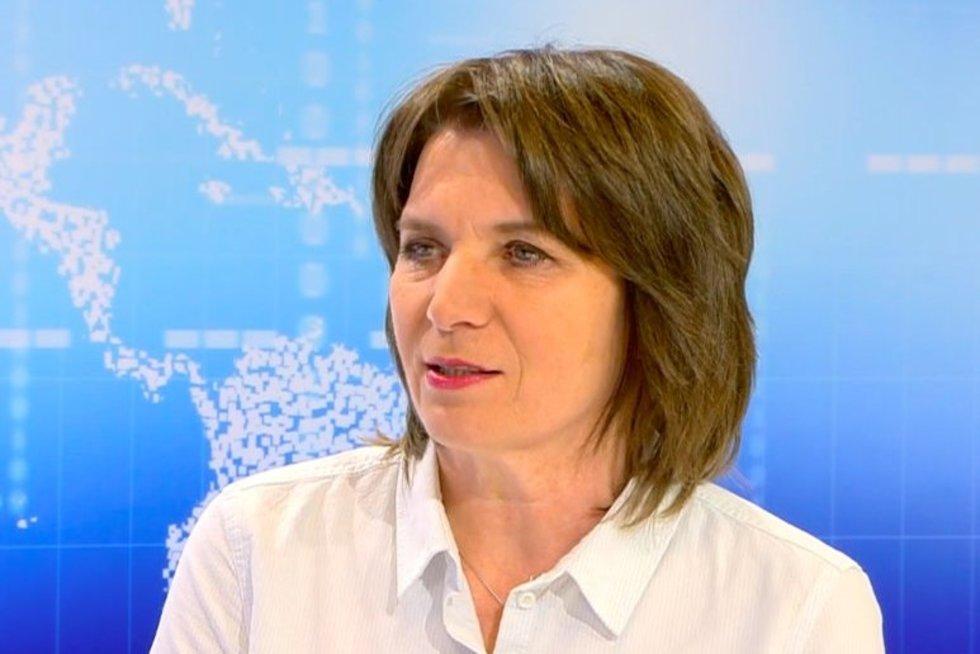 Profesorė Aurelija Žvirblienė (nuotr. stop kadras)