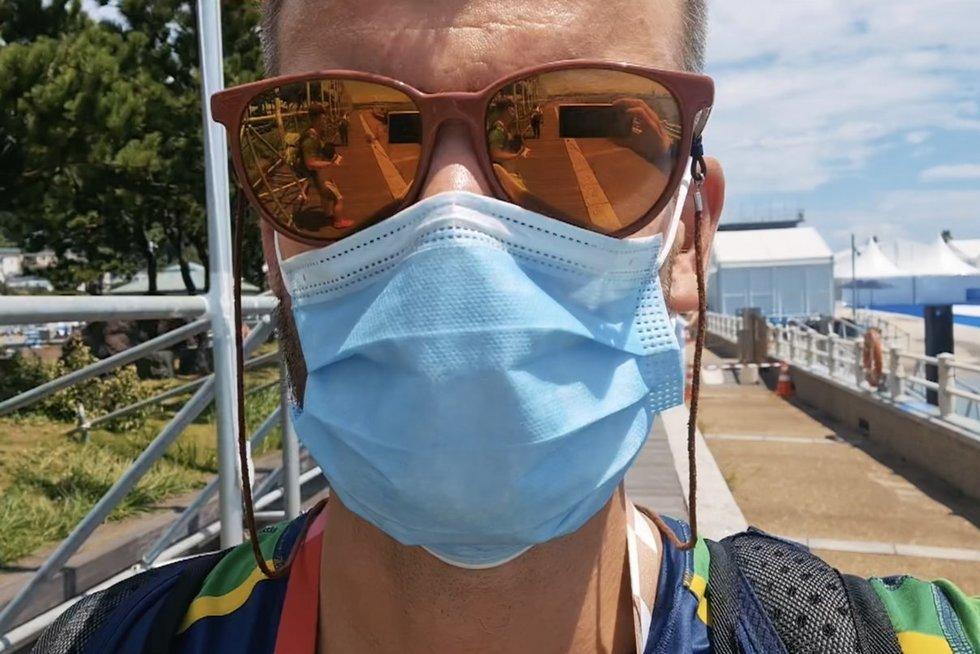 """Mindaugą Rainį sužavėjo įspūdingi Enošimos salos vaizdai: """"Tai buvo viena geriausių dienų čia"""""""