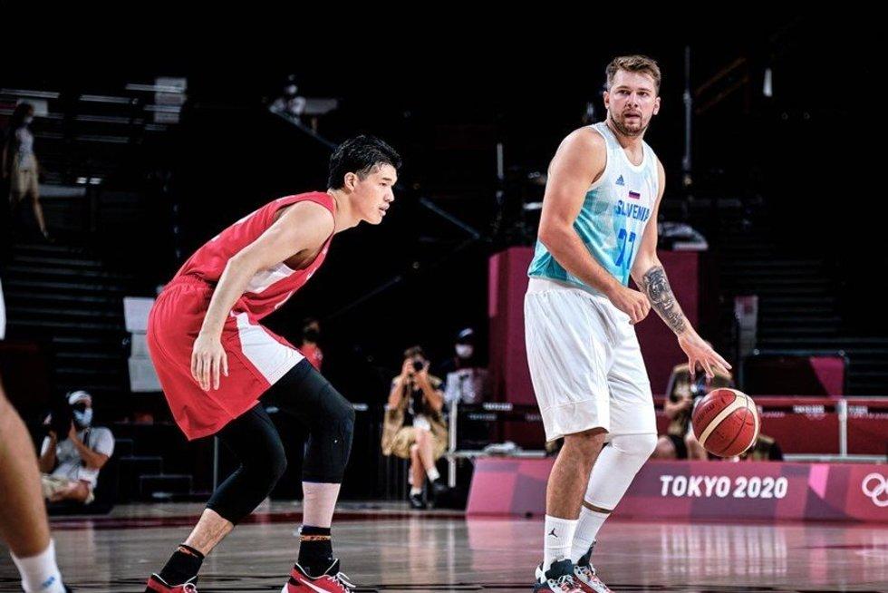 L. Dončičius. (nuotr. FIBA)