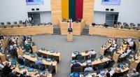 Seimas priėmė rezoliuciją dėl Baltarusijos: rinkimai – suklastoti, Lukašenka – neteisėtas vadovas (www.lrs.lt)