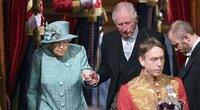 """JK karalienė pristatė Johnsono vyriausybės """"Brexito"""" planus (nuotr. SCANPIX)"""