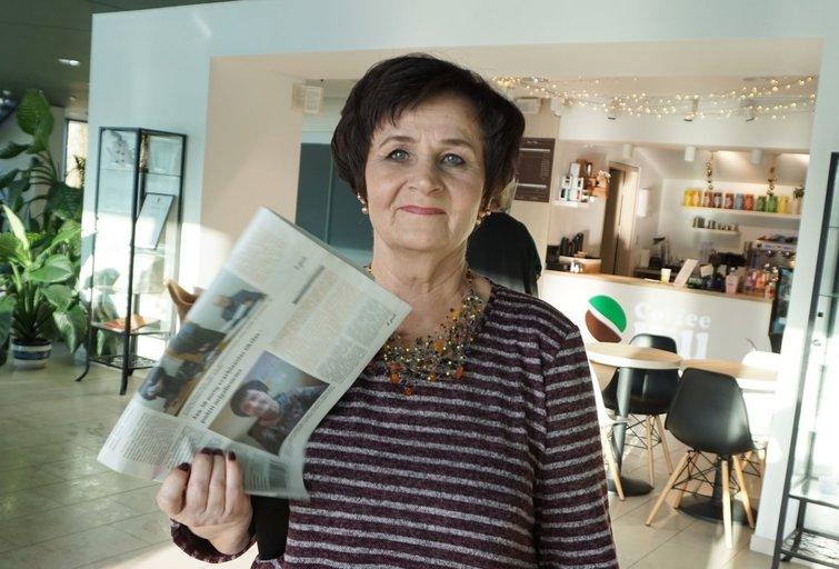 Aldona Šerėnienė Anykščių rajono neįgaliųjų draugijai vadovauja 18 metų. Aldonos Milieškienės nuotr.