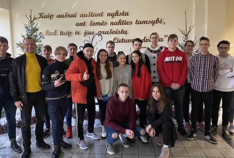 Jono Basanavičiaus gimnazija (nuotr. Organizatorių)