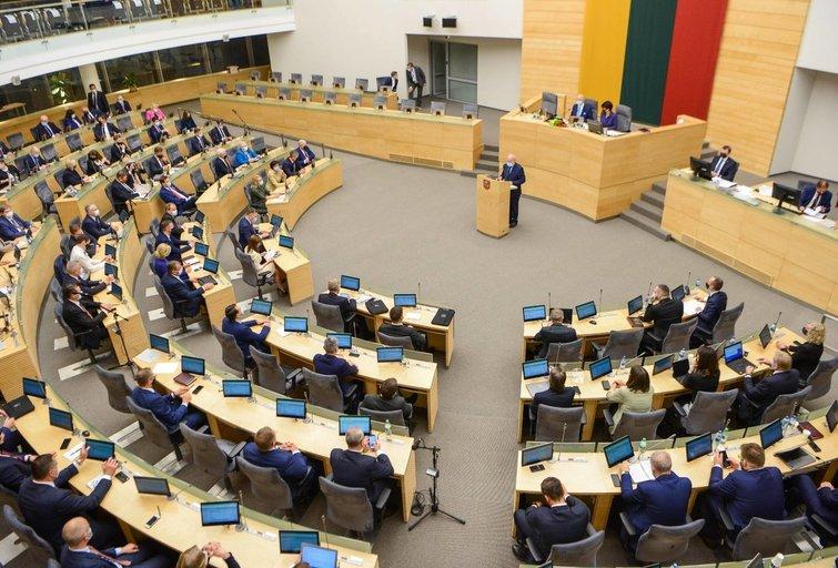 Seimas(nuotr. Fotodiena/Justino Auškelio)