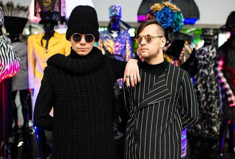 """""""Beissoul & Einius"""" pristatė kostiumų parodą(M. Repečkos nuotr.)"""