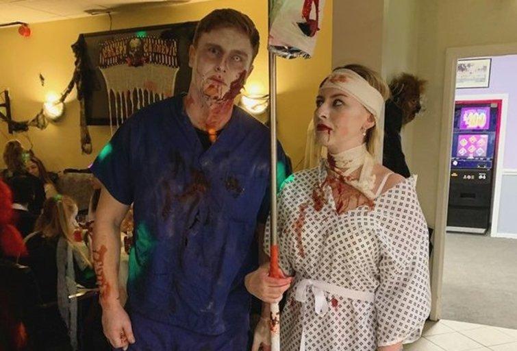 Helovino vakarėlis (nuotr. asm. archyvo)