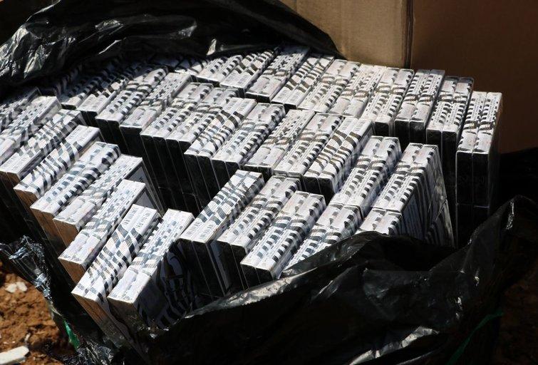 Akcizais apmokestinamų prekių kontrolė Kaišiadorių rajone aktyviai tęsiama (nuotr. Policijos)