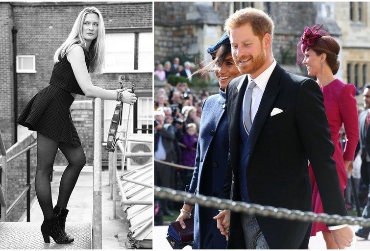 Lizzie Ball ir princas Harry (tv3.lt fotomontažas)