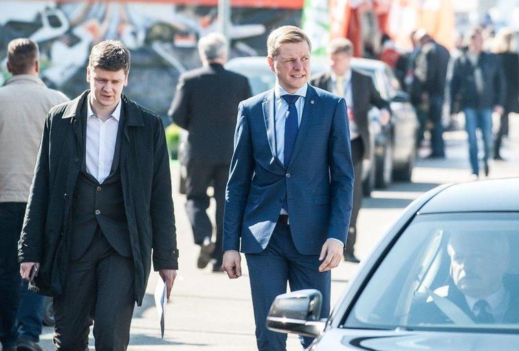 Aleksandras Zubriakovas, Remigijus Šimašius (nuotr. Fotodiena.lt/Pauliaus Peleckio)