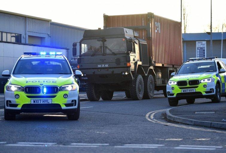 Policija Didžiojoje Britanijoje (nuotr. SCANPIX)