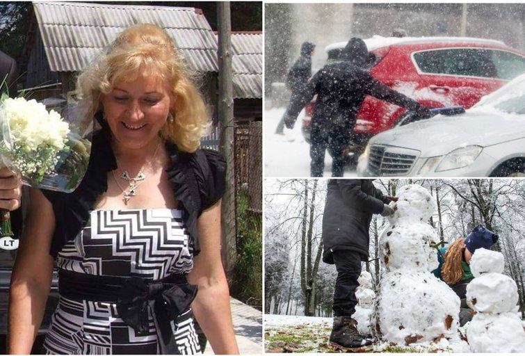 Janina pasakė, kada sulauksime tikros žiemos (tv3.lt fotomontažas)