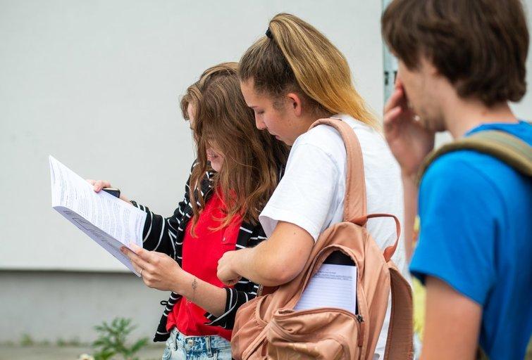 Studentai (nuotr. Fotodiena/Justino Auškelio)