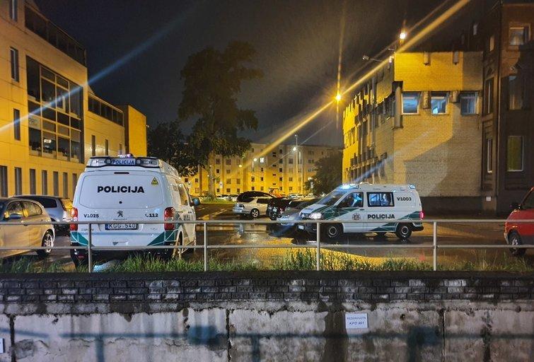Vilniuje rasta negyva moteris: įtariama žmogžudystė (nuotr. Bronius Jablonskas/TV3)