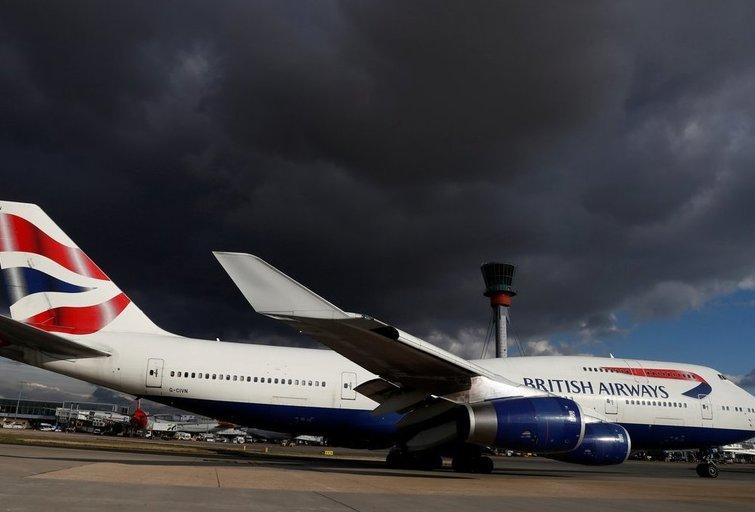 """""""British Airways"""" (nuotr. SCANPIX)"""