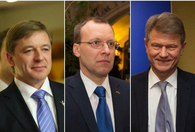 R. Karbauskis, N. Puteikis, R. Paksas (tv3.lt fotomontažas)