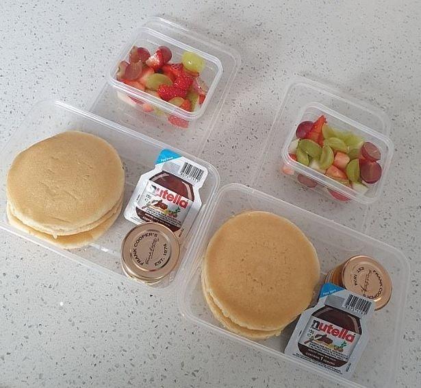 Internautai sukritikavo mamos paruoštus pusryčius vaikams