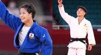 Istorinė diena Japonijoje: brolis ir sesė pasidabino aukso medaliais tą pačią dieną (nuotr. SCANPIX)